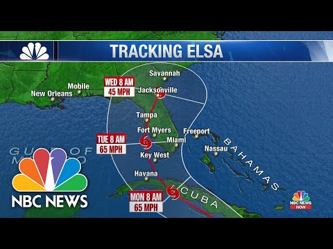Hurricane Elsa Is First of The season, Could Impact Florida Next Week