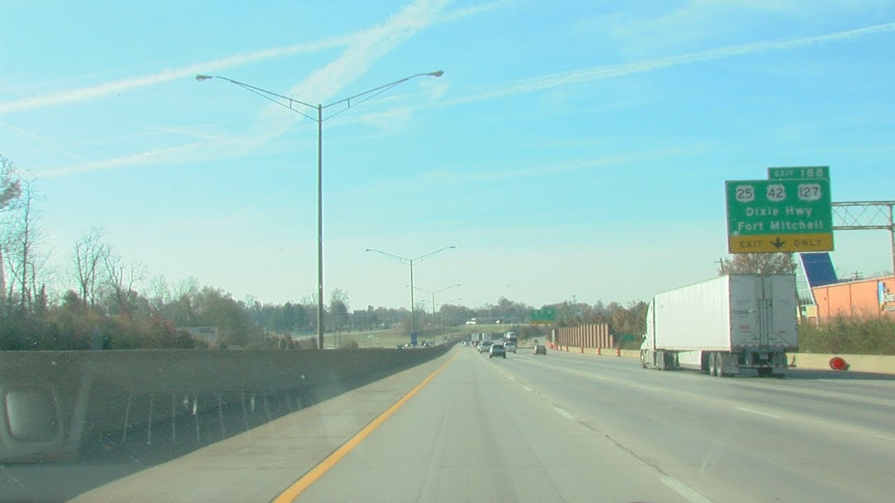 I-71-75 Fort Mitchell Finished Ahead of Schedule