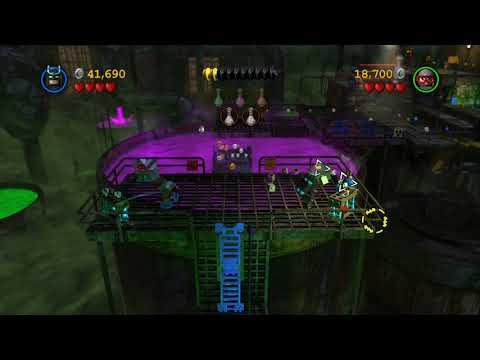 LEGO Batman 2 DC Super Heroes Walkthrough - Part 3 - Chemical Crisis (Wii U, Xbox 360, PS3)