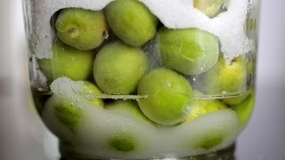 Green plum syrup, liquor, & pickles (Maesil-cheong, Maesilju, & Maesil-jangajji: 매실청, 매실주, 매실 장아찌)