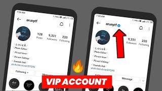 ♛ V.I.P Account Instagram - How to make VIP account on instagram in 2019 - 100% Working !!