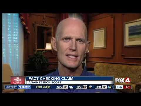 FGCU fact check: Scott's record