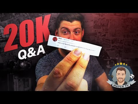 20k Subscriber Q&A!