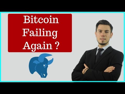 BITCOIN FAILING AGAIN ?? 2019