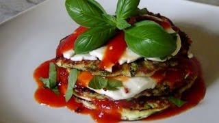Gluten Free Zucchini Fritter Parmigiano
