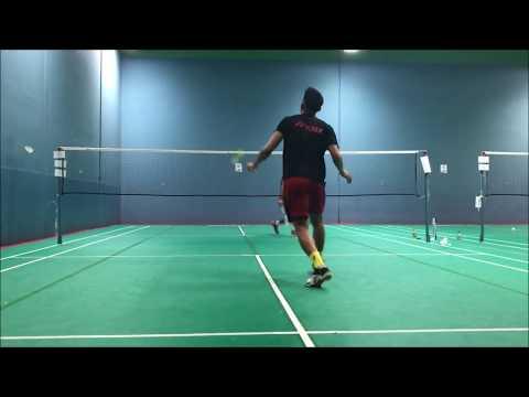 Lin Dan US Open 2018 Warm Up Badminton Training San Gabriel 2 SG2