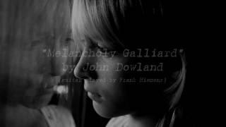 Melancholy Galliard by John Dowland (guitar by F.H.,'88)