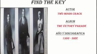 Two Minds Crack - Find The Key (1986)