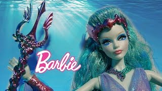 Exclusive! Barbie Collector Faraway Forest Water Sprite Doll Deboxing Toy Review