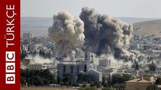 Kobani'de IŞİD'i hedef alan yeni hava saldırıları - BBC TÜRKÇE