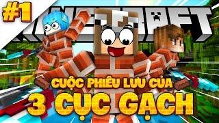 NHỮNG HÒN ĐẢO LƠ LỬNG! (Minecraft Cuộc Phiêu Lưu Của 3 Cục Gạch #1)