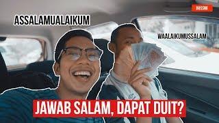 Rakyat Malaysia TAK NAK Jawap Salam saya ?!  [Sosial Eksperimen]