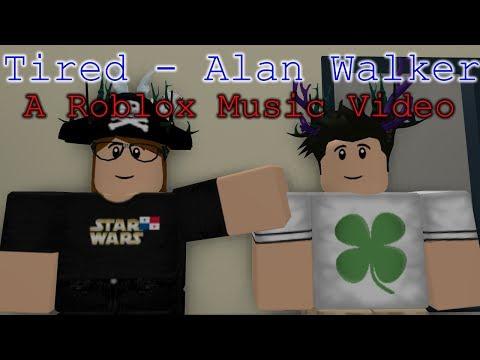 """tired""---alan-walker-ft-gavin-james- -roblox-music-video- "