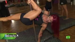 Repeat youtube video Tarde Directo: Pole dance, el baile más sexy que está de moda