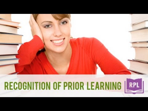 how to get recognition of prior learning