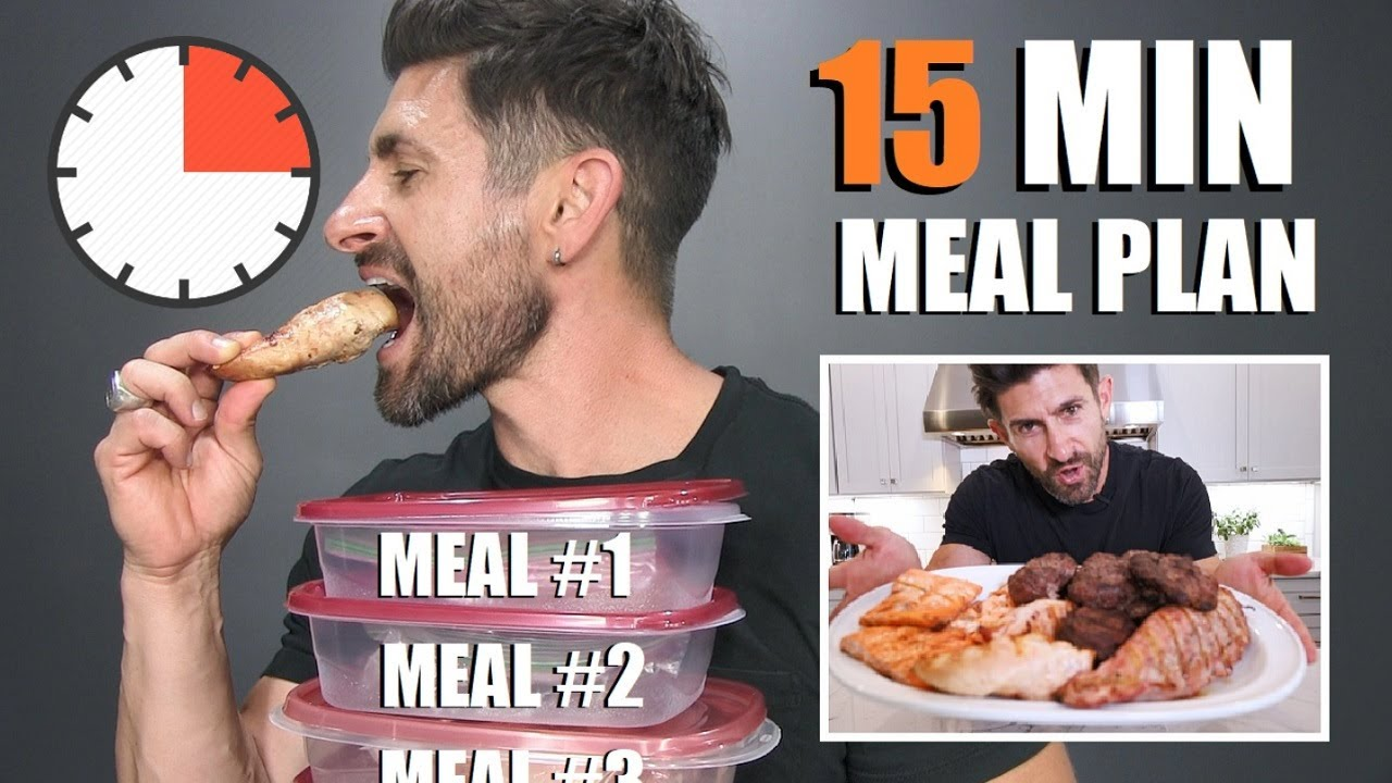 <div>The BEST 15 Min Weekly Meal Plan & Diet Prep (Lose Fat & Gain Muscle)</div>