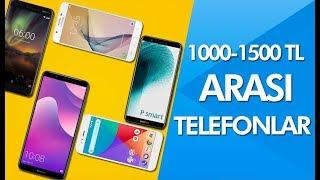 1000 - 1500 TL arası en iyi akıllı telefonlar - Temmuz 2018