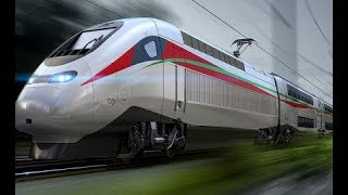 """الملك يطلق اسم """"البراق"""" على قطار """"تي جي في"""" طنجة  الدار البيضاء"""