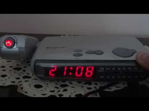 Radio clock Bench (Germany)