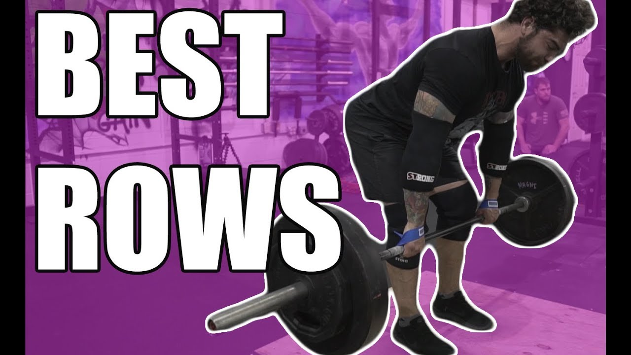 Best row variations to improve deadlift and get big back barbell