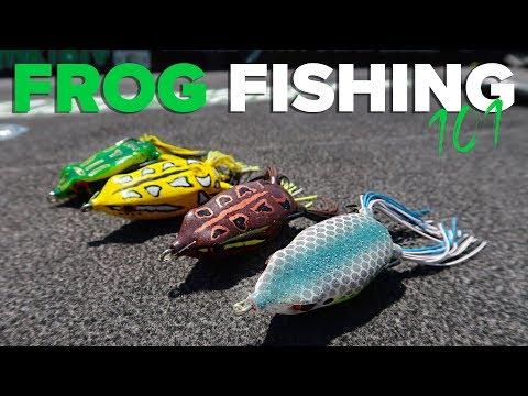 Bass Fishing Tips - Frog Fishing Color Selection