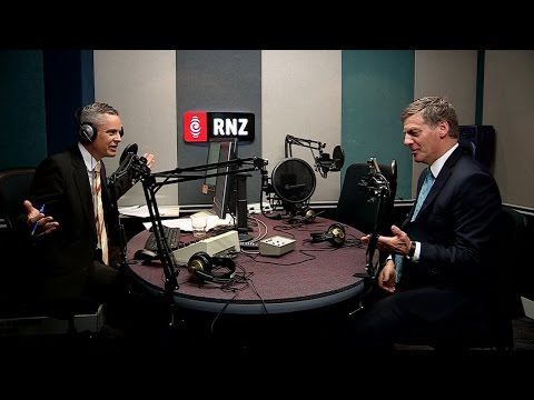 Prime Minister Bill English on Morning Report, 31 January 2017.