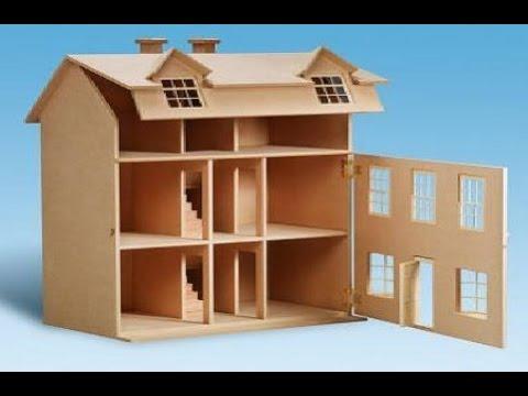 Como hacer ventanas para casas de mu ecas youtube - Como hacer muebles para casa de munecas ...