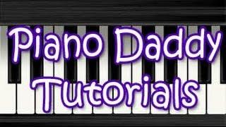 Aankhon Mein Teri Om Shanti Om Piano Tutorial ~ Piano Daddy