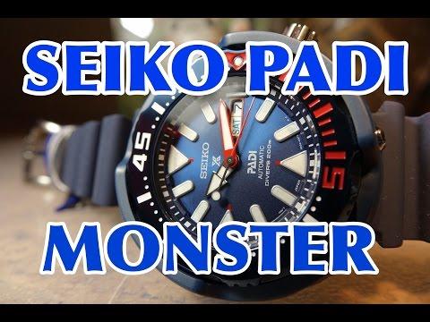 SEIKO PADI MONSTER TUNA SRPA83 SRPA83K1