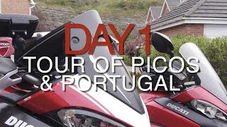 Day 1 - Picos De Europa, Portugal European Motorbike Adventure Touring