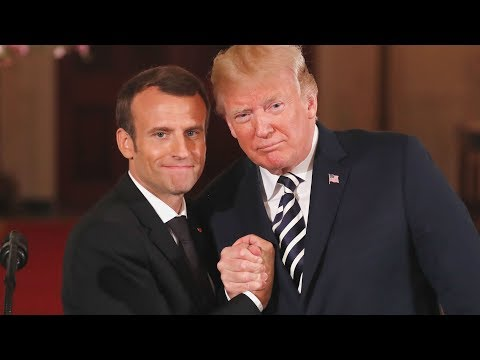 Trump-Macron: kissing, hand holding, dandruff wiping – their body language analyzed