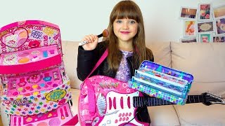 Download Ksysha Pretend Play Dress Up & makeup Toys for Kids Funny videos with dolls Mp3 and Videos