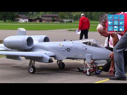 A-10 WARTHOG EDUARD MORBITZER TEAM AUSTRIA RC TURBINE JET 2ND COMPETITION FLIGHT (20KG) JET WM 2013