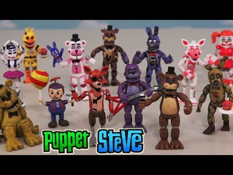 Fnaf Five Nights At Freddy S All Collectable Funko Sets