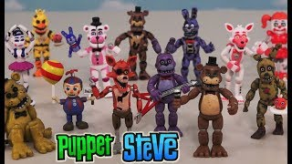 FNAF Five Nights at Freddy's ALL Collectable FUNKO Sets Ultimate Checklist Vinyl Figures Mini