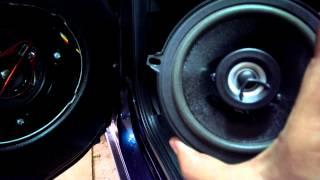 PIONEER TS-R1350S 250В на ЛАДА ГРАНТА и штатные Дельта 80В