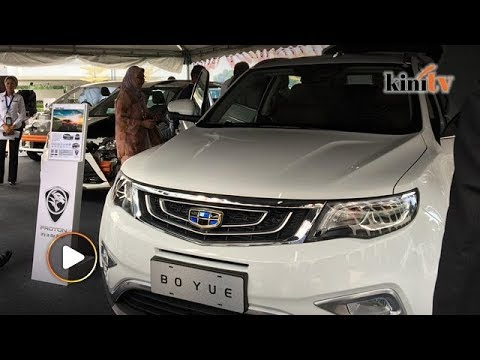 Proton Geely S Boyue Suv Makes An Appearance At Parliament Youtube