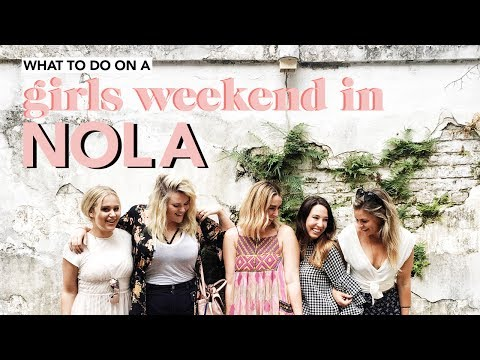 what to do on a GIRLS WEEKEND in NOLA | New Orleans Travel Vlog