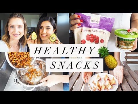 Healthy Snack Ideas (Paleo, Gluten-free, Dairy-free!)
