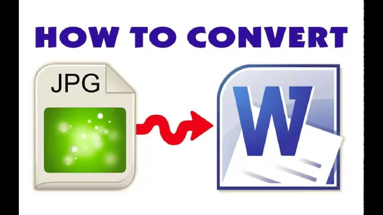 image jpeg to word converter
