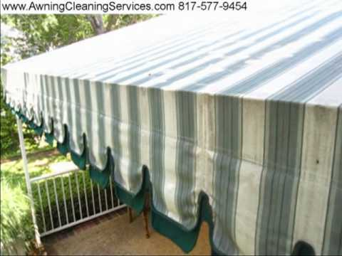 Amazing Awning Cleaning   Sunbrella Canvas Mold   Dallas Fort Worth TX 817 577 9454