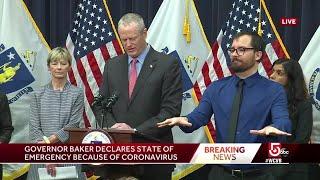 Gov. Baker declares 'state of emergency'