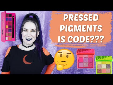 Pressed Pigments Is Code?! The FDA & Approved Color Additives & Neon Makeup