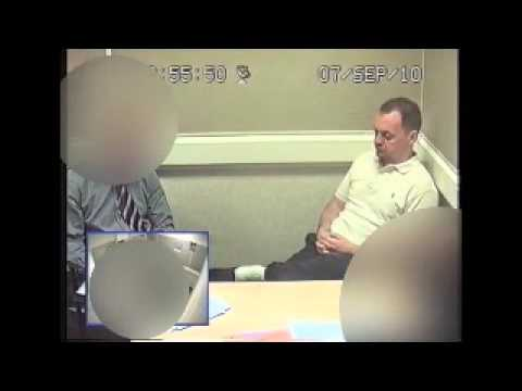 Stephen Lawrence killer Gary Dobson in police interview