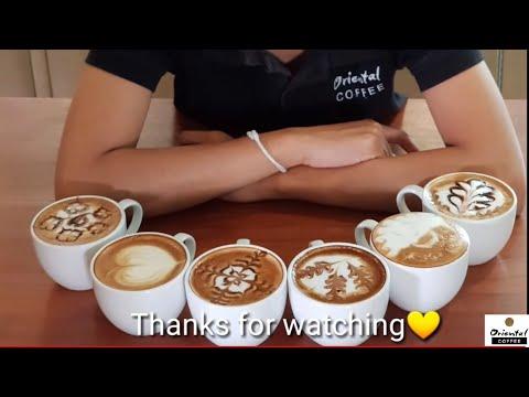 5 ไอเดีย วาดลาเต้..ง่ายๆ ก็ว๊าว ได้ /Oriental Coffee #30