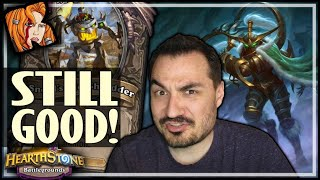 NERFED MAIEV = STILL GOOD?! - Hearthstone Battlegrounds