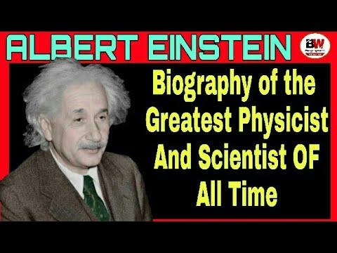 Albert einstein a condensed biography