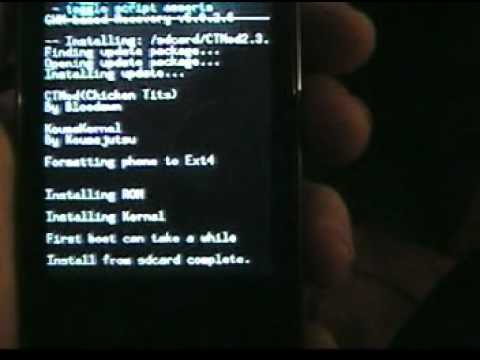 Samsung Galaxy Prevail CTMod Rom Tutorial