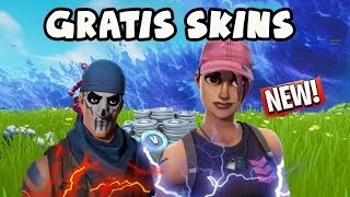 SO get YOU FREE SKINS in FORTNITE! - Obtenez gratuitement Fortnite Skins!