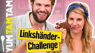 SCHOKO-TACOS mit LINKS backen? // Linkshänder-Challenge #3 // #yumtamtam